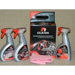 F1 CLEAN Auto Sett nr 2 - for innvendig bilvask (spesialartikkel 4er sett)
